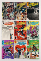 "Lot of (9) 1987-88 ""The Amazing Spider-Man"" #288-295 Marvel Comic Books"
