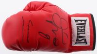Floyd Mayweather & Marcos Maidana Signed Everlast Boxing Glove (JSA COA)