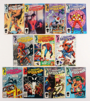 "Lot of (11) 1984-85 ""The Amazing Spider-Man"" #254-264 Marvel Comic Books"