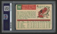 1959 Topps #202 Roger Maris (PSA 9) (OC) at PristineAuction.com
