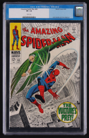 "1968 ""The Amazing Spider-Man"" Issue #64 Marvel Comic Book (CGC 7.5)"