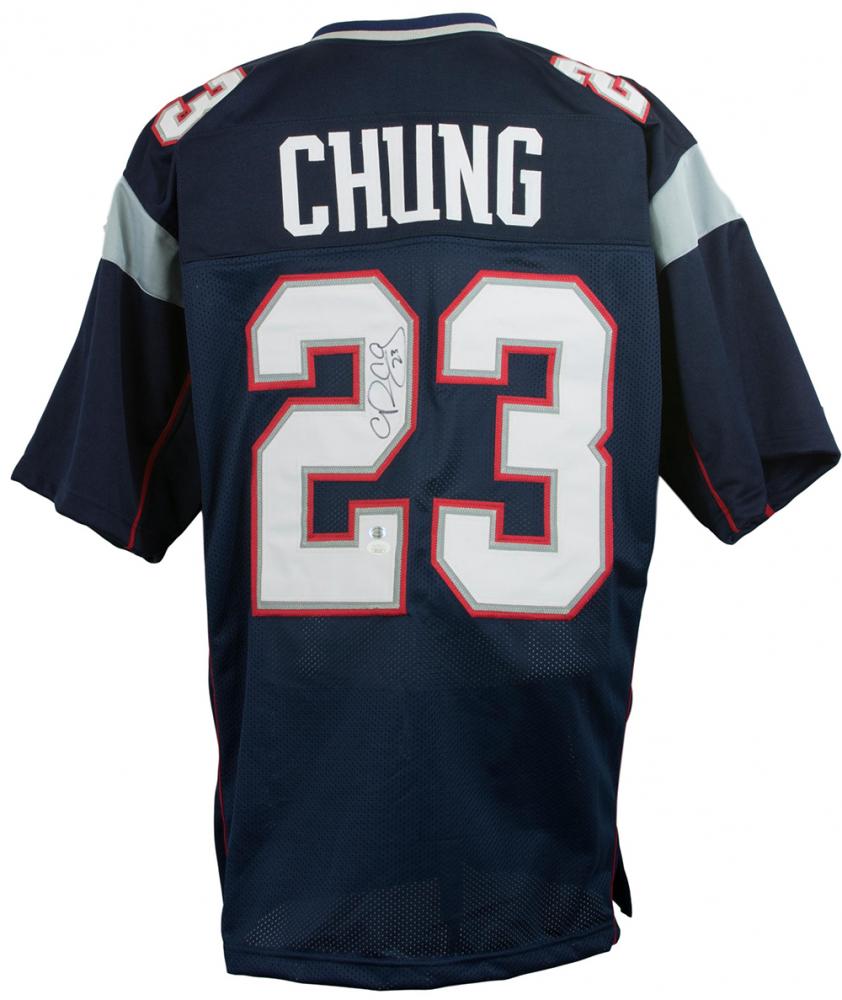 Patrick Chung Signed Jersey (JSA COA & Sports Integrity Hologram ...