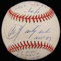 Carl Yastrzemski Signed OAL Baseball with (14) Stat Inscriptions (JSA COA) at PristineAuction.com
