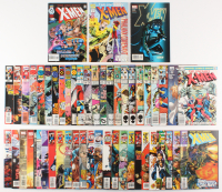 Lot of (51) 1981-2008 X-Men Marvel Comic Books at PristineAuction.com