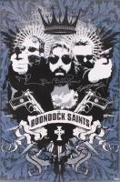 "Norman Reedus, Sean Patrick Flanery, & David Della Rocco Signed ""The Boondock Saints"" 24x36 Movie Poster (Radtke COA)"