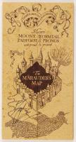 "Daniel Radcliffe Signed ""Harry Potter"" Marauder's Map (Beckett COA)"