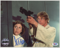 """Carrie Fisher Signed """"Star Wars"""" 8x10 Photo (PSA Hologram)"""