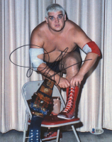Dusty Rhodes Signed WWE 8x10 Photo (Beckett COA)