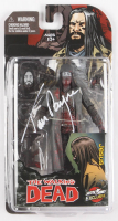 "Tom Payne Signed ""The Walking Dead"" Black & White Action Figure (Radtke COA) at PristineAuction.com"