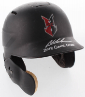"Austin Meadows Signed Indianapolis Indians Game-Used Authentic Full-Size Batting Helmet Inscribed ""2018 Game Used"" (Radtke COA) at PristineAuction.com"