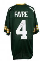 "Brett Favre Signed Green Bay Packers Jersey Inscribed ""'95, '96, '97 MVP"" (Favre COA)"