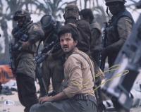 "Diego Luna Signed ""Star Wars: Rogue One"" 11x14 Photo (Beckett COA)"