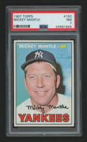 1967 Topps #150 Mickey Mantle (PSA 7) at PristineAuction.com