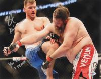 """Stipe Miocic Signed UFC 11x14 Photo Inscribed """"You Reach I Teach"""" (PSA COA)"""