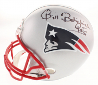 "Bill Belichick Signed New England Patriots Full-Size Helmet Inscribed ""Pats"" (Beckett COA)"