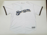 """Christian Yelich Signed Brewers Jersey Inscribed """"18 NL MVP"""" (Steiner Hologram) at PristineAuction.com"""