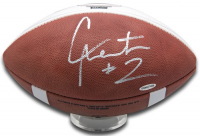 Cam Newton Signed Auburn Tigers Limited Edition 2011 National Champions Football (UDA COA) at PristineAuction.com