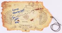"Sean Astin Signed ""The Goonies"" Treasure Map Prop Inscribed ""Goonies Never Say Die!!!"" & ""Mikey"" (JSA COA)"