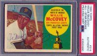 Willie McCovey Signed 1960 Topps #316 All-Star Rookie RC (PSA Encapsulated) at PristineAuction.com