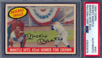 Mickey Mantle Signed 1959 Topps #461 (PSA Encapsulated) at PristineAuction.com