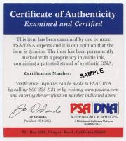 "Bill Goldberg Signed ""The Longest Yard"" Mean Machine Mini Helmet (PSA COA) at PristineAuction.com"