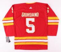 Mark Giordano Signed Calgary Flames Jersey (Beckett COA)