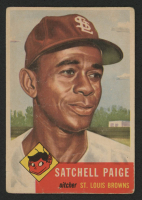 1953 Topps #220 Satchel Paige
