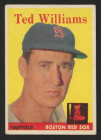 1958 Topps #1 Ted Williams