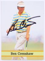 Ben Crenshaw Signed 1993 Fax-Pax Famous Golfers #37 (JSA COA)