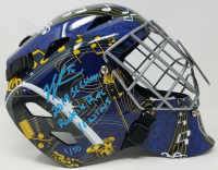 "Jordan Binnington Signed St. Louis Blues Limited Edition Full Size Goalie Mask Inscribed ""2019 SC Champs"" & ""Rookie Rec 16 Wins"" (Fanatics Hologram)"