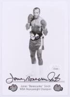 """James """"Bonecrusher"""" Smith Signed 5x7 Photo (JSA COA)"""