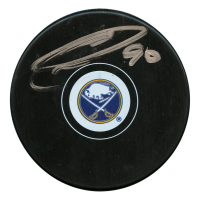 Ryan O'Reilly Signed Buffalo Sabres Logo Hockey Puck (JSA Hologram)