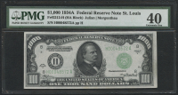 1934A $1000 One Thousand Dollars Federal Reserve Note - St. Louis - HA Block - FR#2212 (PMG 40)