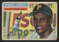 1956 Topps #33A Roberto Clemente GB
