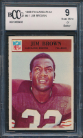 1966 Philadelphia #41 Jim Brown (BCCG 9)