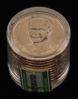 Ballistic Roll of (12) Uncirculated 2015-D Dwight D. Eisenhower Presidential Dollars