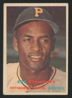 1957 Topps #76 Roberto Clemente at PristineAuction.com
