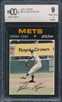 1971 Topps #513 Nolan Ryan (BCCG 9)