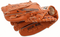 George W. Bush Full-Size Baseball Catchers Glove (JSA LOA) at PristineAuction.com