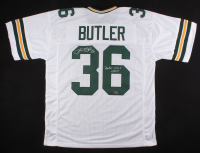"""LeRoy Butler Signed Packers Jersey Inscribed """"Packer H.O.F. 2007"""" (PA COA)"""