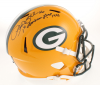 """LeRoy Butler Signed Green Bay Packers Full-Size Speed Helmet Inscribed """"1st Lambeau Leap 1993"""" (PA COA)"""