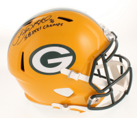 """LeRoy Butler Signed Green Bay Packers Full-Size Speed Helmet Inscribed """"SB XXXI Champs"""" (PA COA) at PristineAuction.com"""
