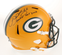 """LeRoy Butler Signed Green Bay Packers Full-Size Speed Helmet Inscribed """"Packer H.O.F. 2007"""" (PA COA) at PristineAuction.com"""