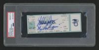 "Nolan Ryan Signed Authentic 1993 Ticket Stub Inscribed ""My Last Game"" (PSA Encapsulated)"