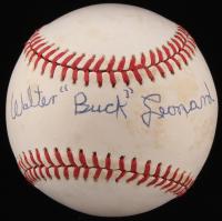 Buck Leonard Signed OML Baseball with Full-Name Signature (JSA COA)