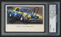Dale Earnhardt Sr. Signed 1995 Action Packed Country #27 (PSA Encapsulated)
