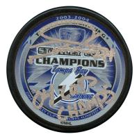 "Nolan Pratt Signed Tampa Bay Lightning 2004 Stanley Cup Champs Logo Hockey Puck Inscribed ""04 Cup Champs"" (JSA Hologram)"