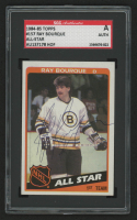 Ray Bourque Signed 1984-85 Topps #157 All-Star (SGC Encapsulated)