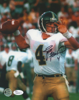 Brett Favre Signed Southern Miss Golden Eagles  8x10 Photo (Favre COA & JSA COA)