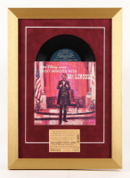 """Disney """"Great Moments With Mr. Lincoln"""" 13x18 Custom Framed Vinyl Record Display with Vintage Ticket"""
